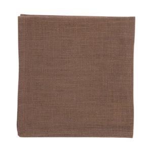 Serviette MINO Farbe: Oak | Größe: 45×45