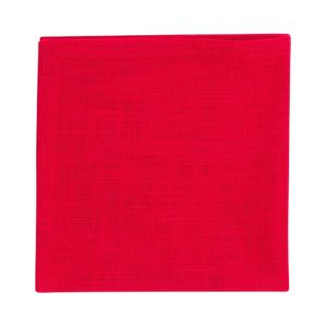 Serviette MINO Farbe: Rot | Größe: 45×45