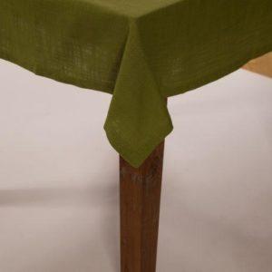 Tischdecke MINO Farbe: Palmengrün | Größe: 100×100