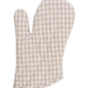Topfhandschuh CAMPOS Farbe: Steel-Weiss | Größe: One Size