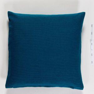 Kissenhülle ASCO Farbe: Coelin | Größe: 40×40