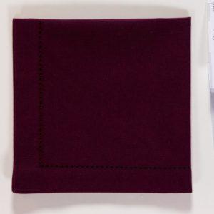 Serviette DINNER Farbe: Dark Purple | Größe: 45×45