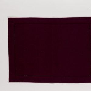 Tischset DINNER Farbe: Dark Purple | Größe: 34×45
