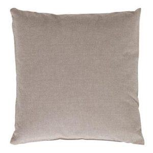 Kissenhülle EASY Farbe: Taupe | Größe: 40×40