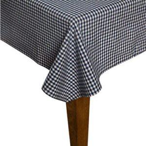 Tischdecke CAMPOS Farbe: Delfterblau-Weiss   Größe: 130×240
