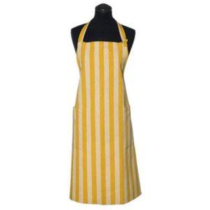 Schürze VITRE Farbe: Yellowsun-White | Größe: Standard