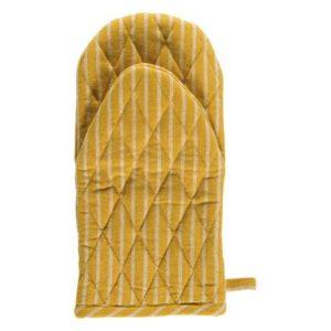 Topfhandschuh LAURI Farbe: Yellowsun-White | Größe: One Size
