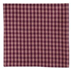 Serviette ANCONA Farbe: Oxblood Red | Größe: 45×45