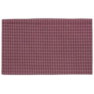 Stoffläufer ANCONA Farbe: Oxblood Red | Größe: 45×150
