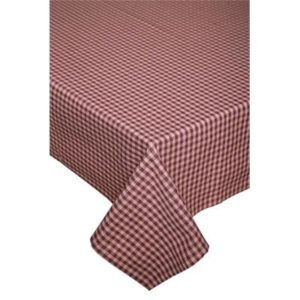 Tischdecke ANCONA Farbe: Oxblood Red | Größe: 130×240