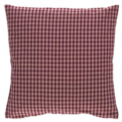 Kissenhülle ANCONA Farbe: Oxblood Red   Größe: 40×40