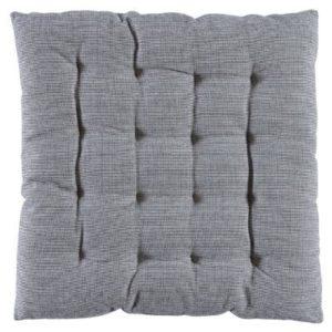 Stuhlkissen DUO Farbe: Dark Grey | Größe: 50×50