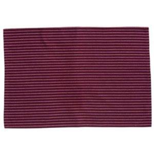 Geschirrtuch LAURI Farbe: Dusty Rose-Weiss | Größe: 45×65