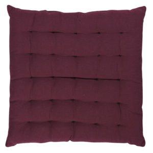 Stuhlkissen SOLO,gepolstert Farbe: Oxblood Red | Größe: 40×40