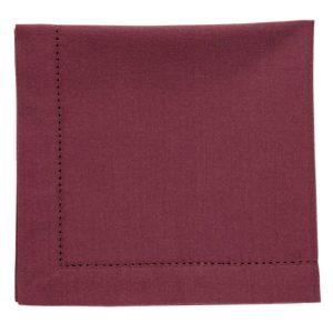 Serviette DINNER Farbe: Oxblood Red | Größe: 45×45