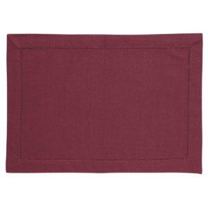 Tischset DINNER Farbe: Oxblood Red | Größe: 34×45