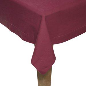 Tischdecke DINNER Farbe: Oxblood Red | Größe: 130×240